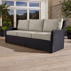 Calistoga Sofa with Sunbrella ® Cushion - Crate and Barrel
