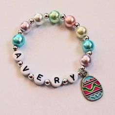 Spring Easter Jewelry for little girls by stargazinglily on Etsy, $4.00