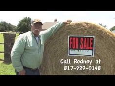 Hay For Sale Burleson Texas - Call Rodney for a good price on some good hay