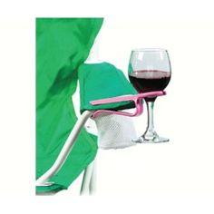 Wine Hook Unique Solutionz WHPK0895 Wine Glass Holder Hook, Pink