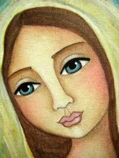 Cara de María.-