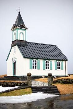 church in Iceland by Kristina (Krisatomic) by helga