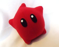 Red Luma Plush  Super Mario Galaxy