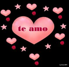 Imagenes De Amor Romanticas Con Corazones Rosas Y Estrellas Chulasjpg Love Is Everything, My Love, I Love You Images, Spanish Phrases, Love Text, Jennifer Love Hewitt, Heart Wallpaper, Eternal Love, Love Notes