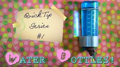 """***AVAILABLE IN HD***Open description box to read more!*** I am starting a new """"Quick Tip"""" series, which will cover little tips regarding hamster care. Hamster Care, Hamster Stuff, Hamster Water Bottle, Hamsters, Sadie, Tips, Creatures, Youtube, Youtube Movies"""