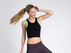 9 stylish crop tops (or sports bras) you must try for summer. #workout #croptop