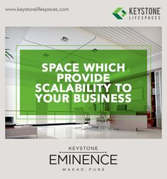 Keystone Eminence - Space which provides scalability to your business. www.keystonelifespaces.com #wakad #commercial #Office #Industry