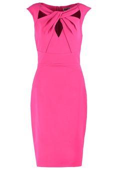 Lipsy Sukienka koktajlowa biznesowa dopasowana ołówkowa różowa pink