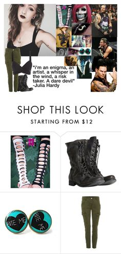 """""""Genderbend; Jeff Hardy"""" by bvblunaticfringe ❤ liked on Polyvore featuring WWE, TNA, AllSaints and J Brand"""