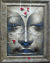African Art Paintings, Buddha Painting