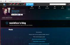 Susie Foxx Profile Page @ http://susiefoxx.skyrock.com/