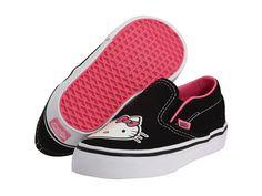 Hello Kitty est aussi en Classic Slip on !  #Vans #kawaii