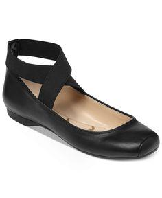 Elastic Ballet Flats