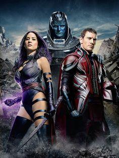 Psylocke, Magneto & Apocalypse