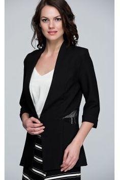 Olgun Orkun Kadın Siyah Ceket