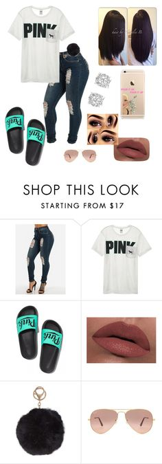 """The Sequence Bryson Tiller :-)"" by shaunnii ❤ liked on Polyvore featuring Victoria's Secret, LORAC, Humble Chic, Ray-Ban and Effy Jewelry"