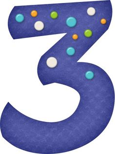 Alfabeto Azul con Círuclos de Colores.