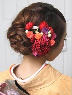 【最旬2015年向け】成人式・卒業式・和装・髪型・ヘアスタイルギャラリー - NAVER まとめ