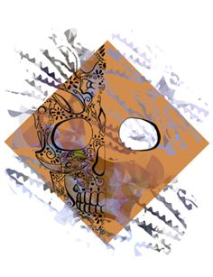 Camiseta Skull sk03 do Studio Gaspart por R$55,00