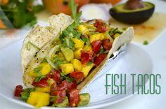 Tasty Health: Fish tacos med mango & avokadosalsa