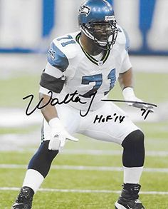 ee8449a6c Walter Jones Seattle Seahawks signed autographed, football 8X10 Photo. COA  with the proof photo will be included