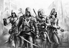 Assassin's #sketch #assassin #pencil_drawing