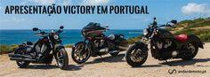 Gama Victory Motorcycles disponível em Portugal - Test drives - Andar de Moto