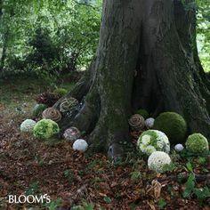 Florale Kugeln #rouwbloemen voor #natuurbegraafplaats