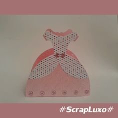 Caixa Vestido Princesa Scrap