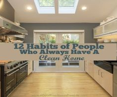 12 Habits of People Who Always Have A Clean Home Widget