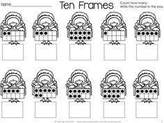 FREE Thanksgiving fun! Turkey Ten Frames!