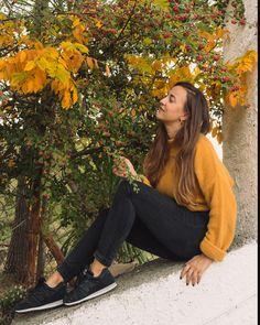 Yellow autumn portrait, advanced selfie Seasons Of The Year, Pumpkin Spice Latte, Selfie, Autumn, Mood, Portrait, Yellow, Fall, Portrait Illustration