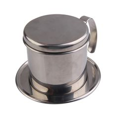 Stainless Steel Metal Vietnamese Coffee Drip Cup Filter Maker Strainer BS #Affiliate