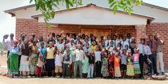 Irmãos em Malauí enviando cumprimentos