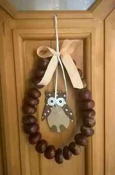 Plastic Spoons, Holidays And Events, Fall Decor, Clock, Wreaths, Autumn, Crafty, Cool Stuff, How To Make