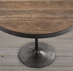 Overstock Greg Round Dining Table Put dinner on a new