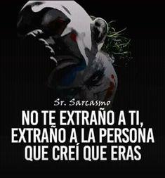😏 My Life Quotes, Sad Love Quotes, True Quotes, Funny Quotes, Joker Frases, Joker Quotes, Leto Joker, Quotes En Espanol, Postive Quotes