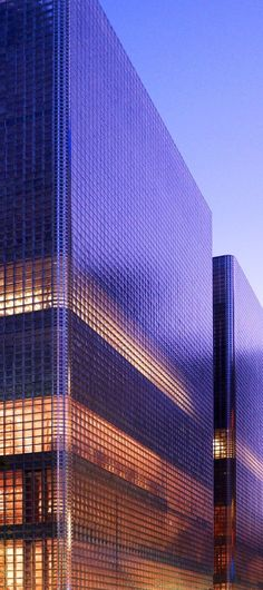 Stunning Glass Facade Building and Architecture Concept