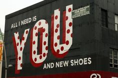 all I need is you and new shoes - stephen powers