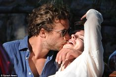 Can't keep away! Lana Del Rey shared a passionate kiss with new boyfriend Francesco Carroz...