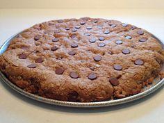 Chocolate Chip Oatmeal Cookie Cake.