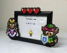 Legend of Zelda Perler Bead Frame