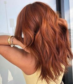 New Pic Balayage Hair rojo Style Your are famous for many things: t. New Pic Balayage Hair Ginger Hair Color, Hair Color And Cut, Ginger Hair Dyed, Red Colored Hair, Brown Blonde Hair, Brunette Hair, Brunette Highlights, Brunette Color, Color Highlights