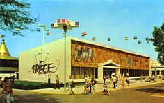 Expo 2015 Milano Blog: History - Greek pavilion at the 1964 New York Worl...