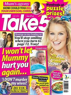 #Take5 #magazines #covers #July #2016