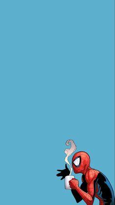 Spider-Man tomando café. em 2021   Desenhos de super herois, Wallpapers bonitos, Imagens marvel