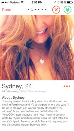 You need to be clear about what you want out of the relationship. | 22 People Who Are Too Clever For Tinder