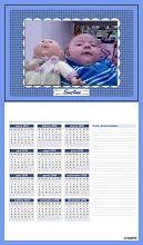 """Foto: Calendario 2010 - Con cariño para Sintia, """"Santiago"""""""