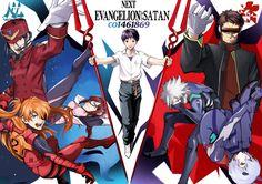 Evangelion Anime Art Books, Art Anime, Manga Anime, Neon Genesis Evangelion, Ghibli, Trauma, Ichigo Y Orihime, Asuka Langley Soryu, Good Anime Series