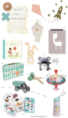 YES! Original #kids #presents, less than 20 euro #kindercadeaus | Kinderkamerstylist.nl